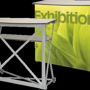 tavolo accoglienza pieghevole forma rettangolare