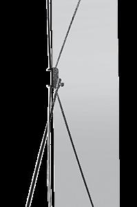 Espositore Monofacciale X-BANNER A1